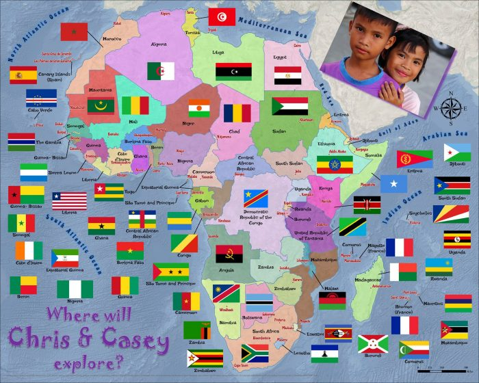 African countries flags 1