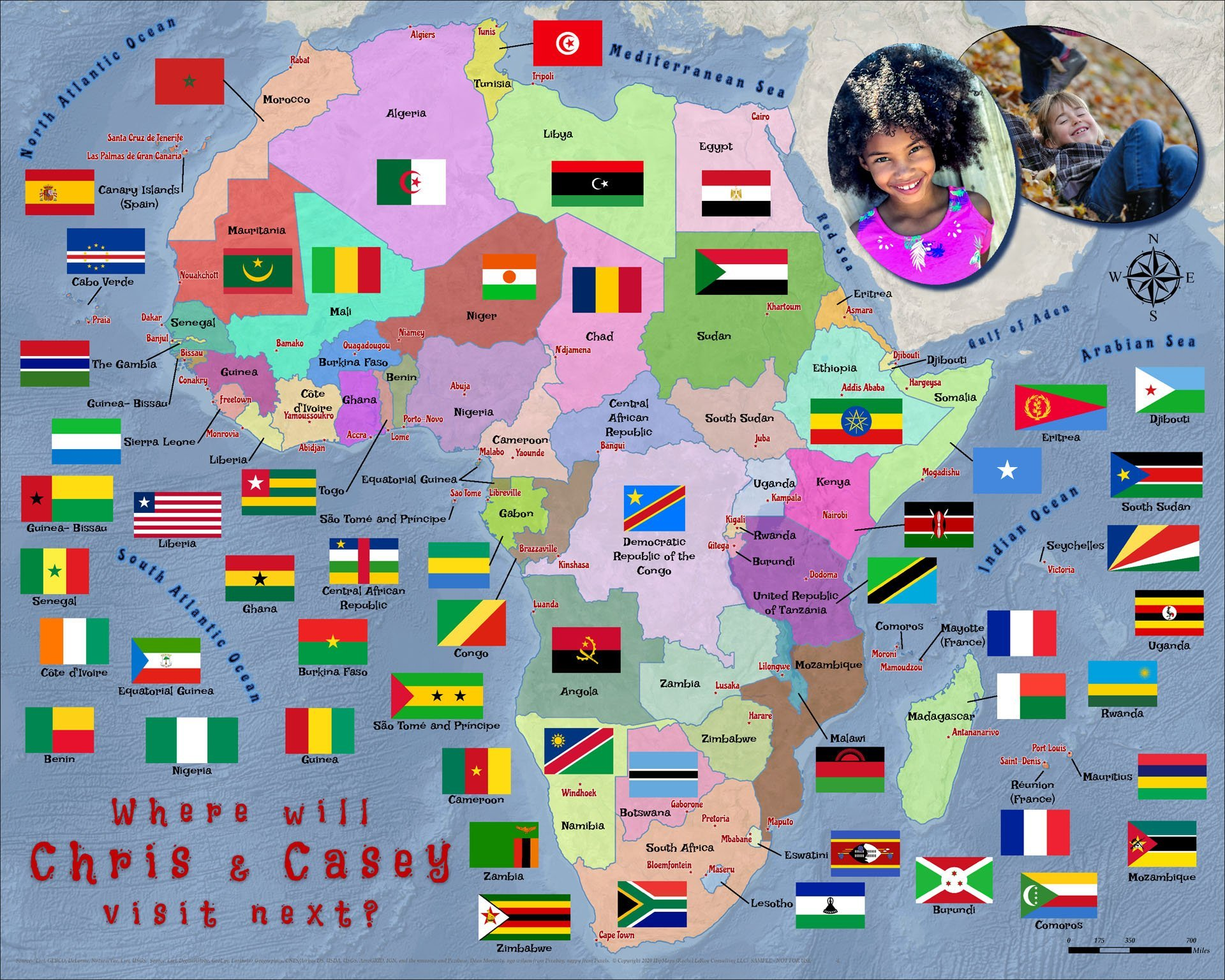 African countries flags 3