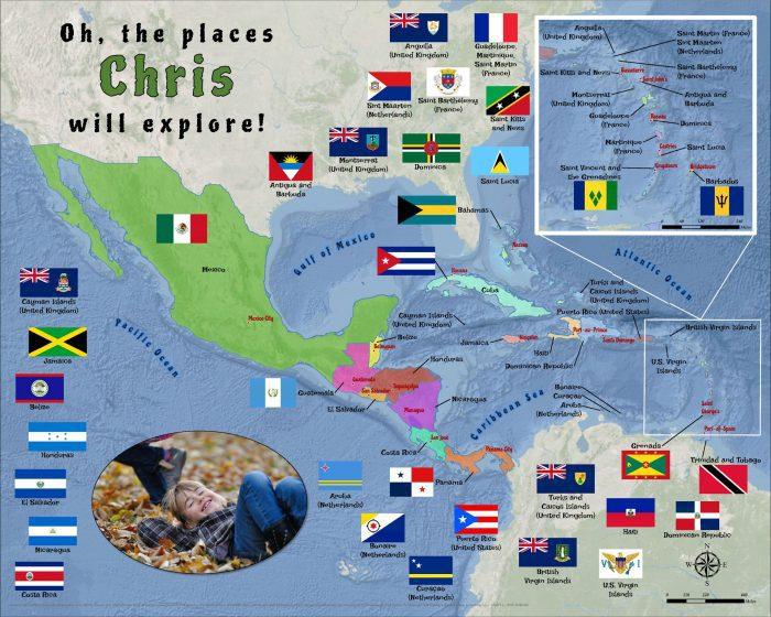 Caribbean Central America puzzle 5