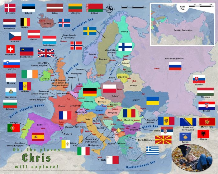 Europe countries flags 5