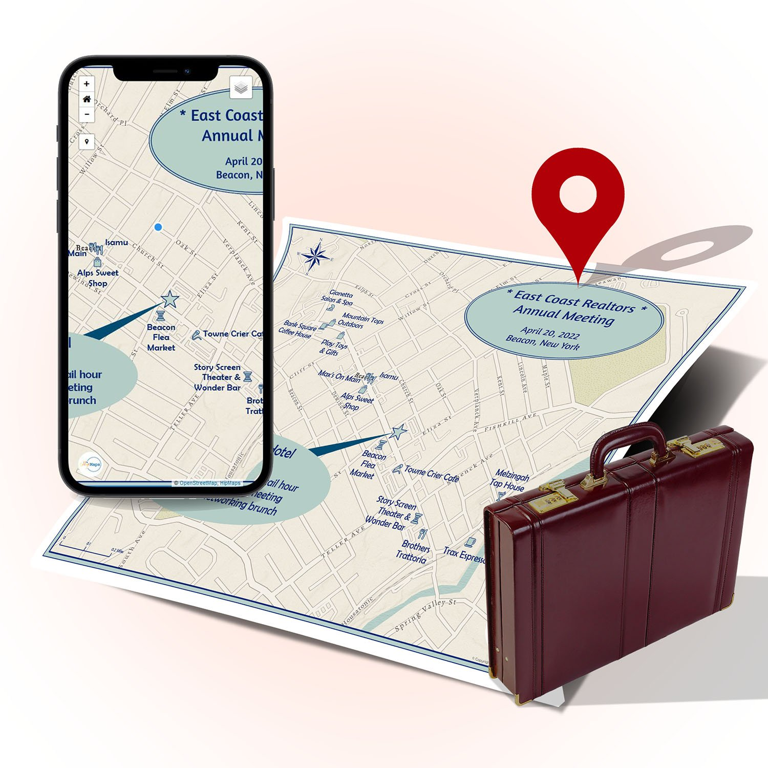 Map - Business