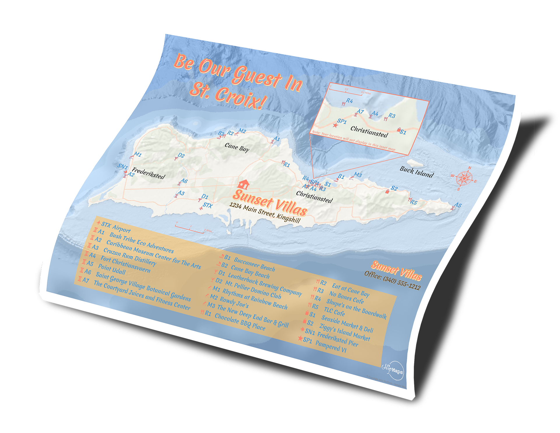 Map - Vacation Rental