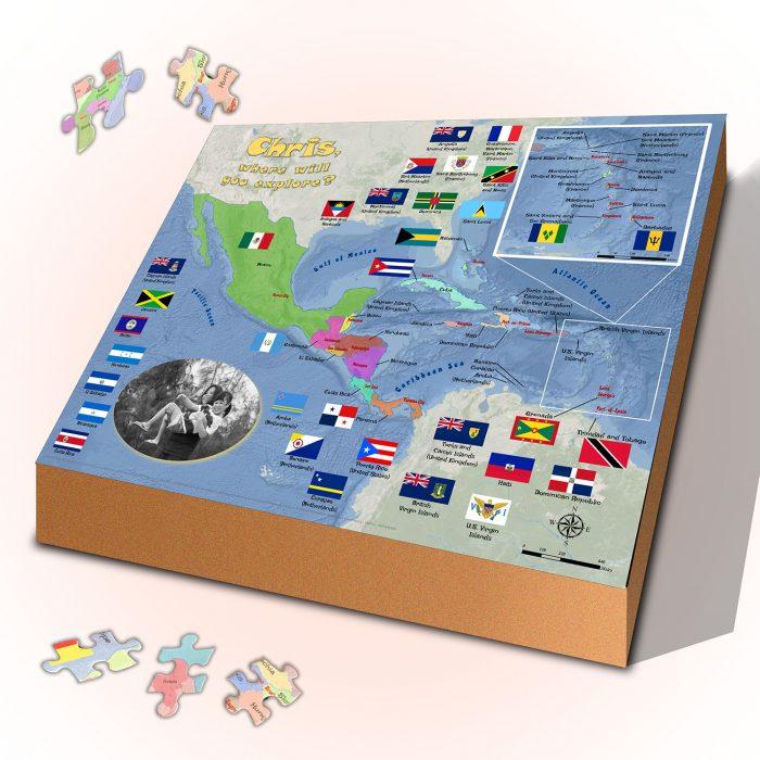 Puzzle Caribbean