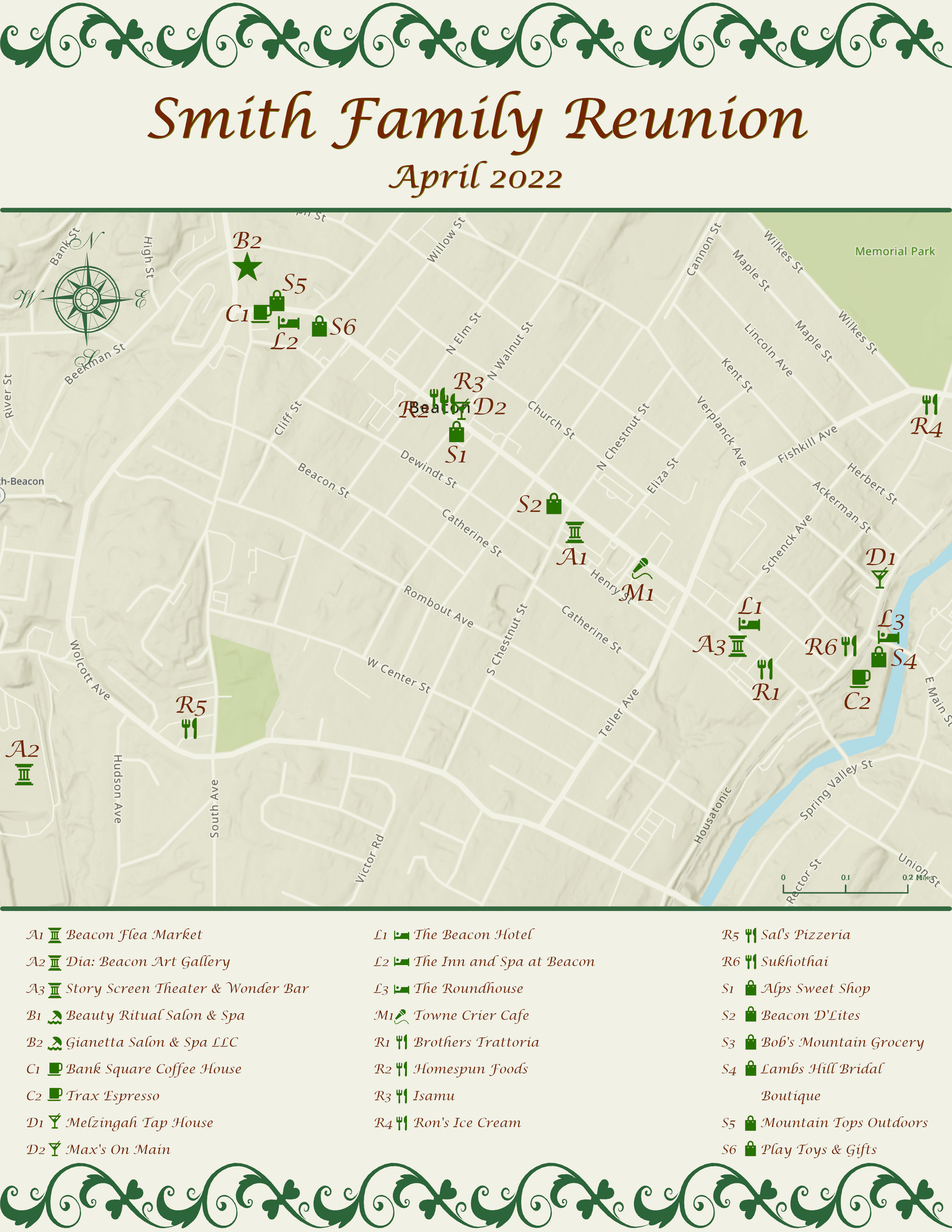Special Occasion map