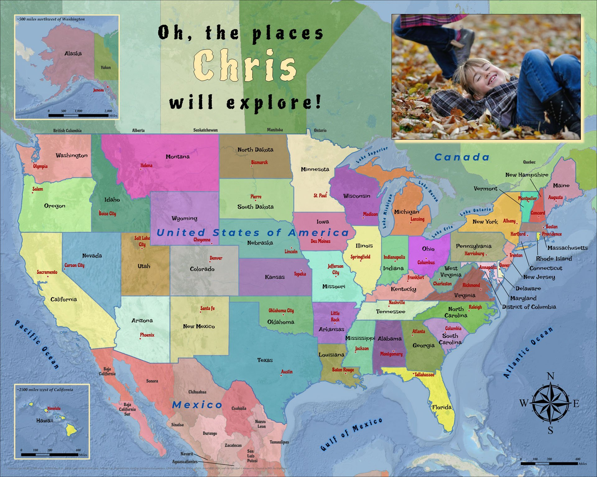 USA States Capitals1