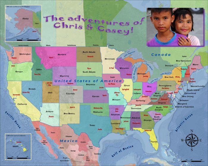USA States Capitals2