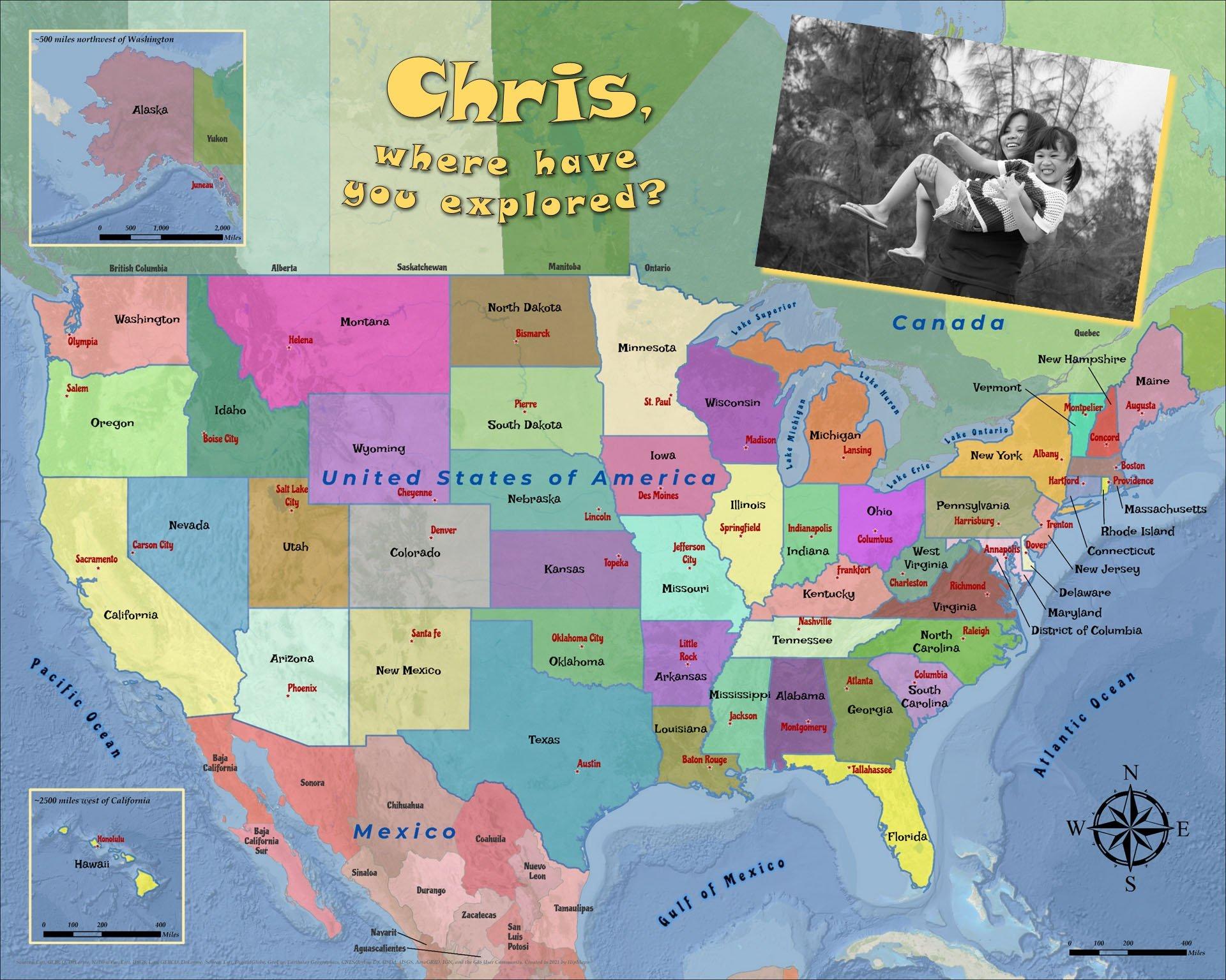USA States Capitals3