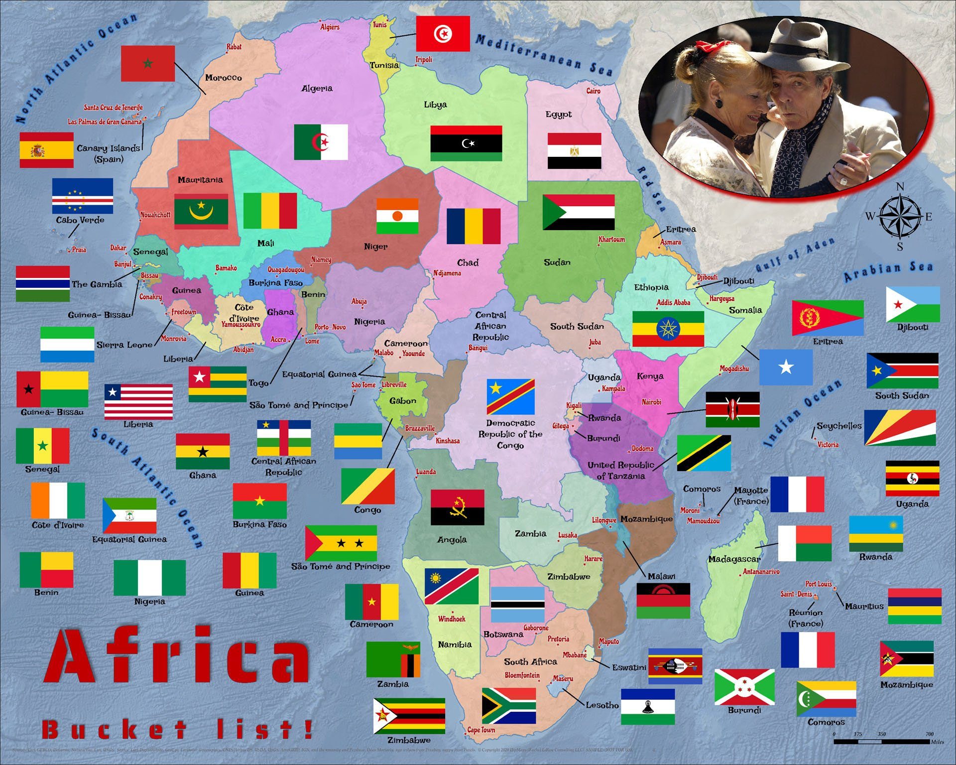Puzzle Learn Africa