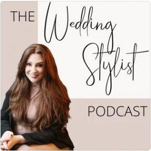 The Wedding Stylist Podcast image with Leona Morelock's photo